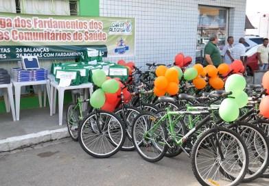 Matéria sobre entrega dos kits aos ACS's, em Chã de Alegria, ganha repercussão nacional