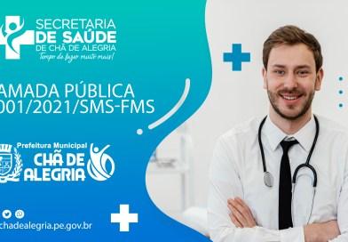 COMISSÃO ESPECIAL DE CHAMADA PÚBLICA Nº 001/2021/SMS-FMS