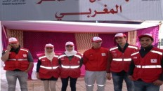 مبارة الهلال الأحمر المغربي