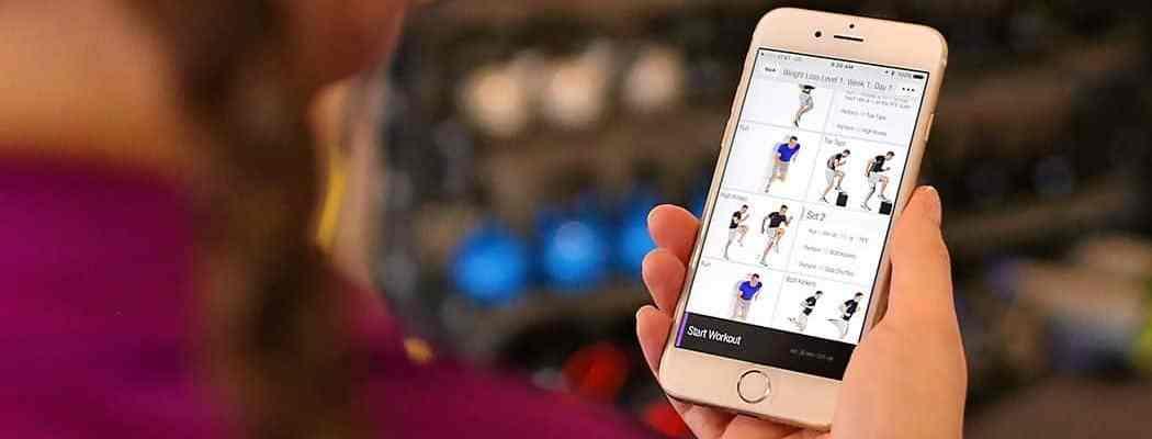تحميل 6 تطبيقات تساعدك على ممارسة التمارين الرياضية من المنزل