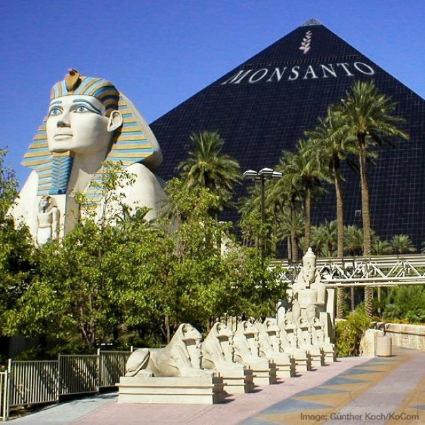 Monsanto Buys The Luxor in Las Vegas