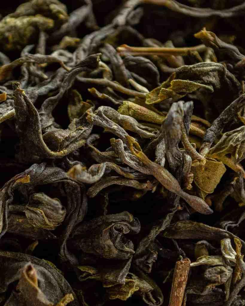 Folhas do Chá Verde Agroflorestal Sítio Yamamaru.