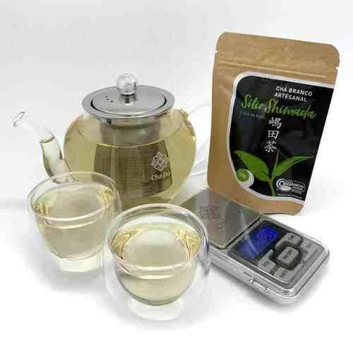 Kit Tea Lover + Chá Branco Orgânico Silver Needle Sítio Shimada