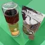 Garrafa Eva 300ml + Chá Verde Agroflorestal Sítio Yamamaru 50g