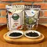Kit Yamamaru   Chá Preto Agroflorestal 50g + Chá Verde Agroflorestal 50g