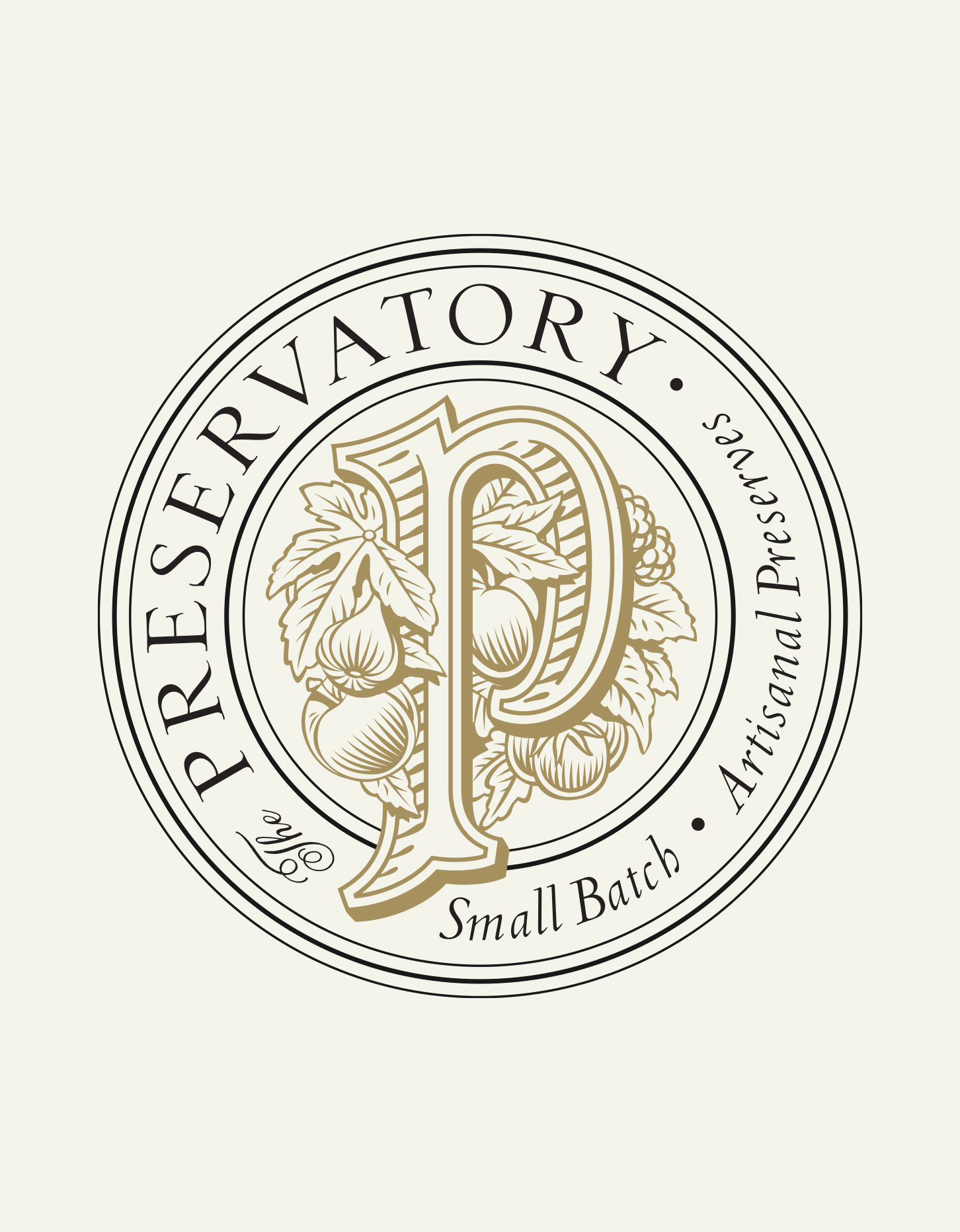Chad Roberts Design Ltd. The Preservatory Brand Identity Design