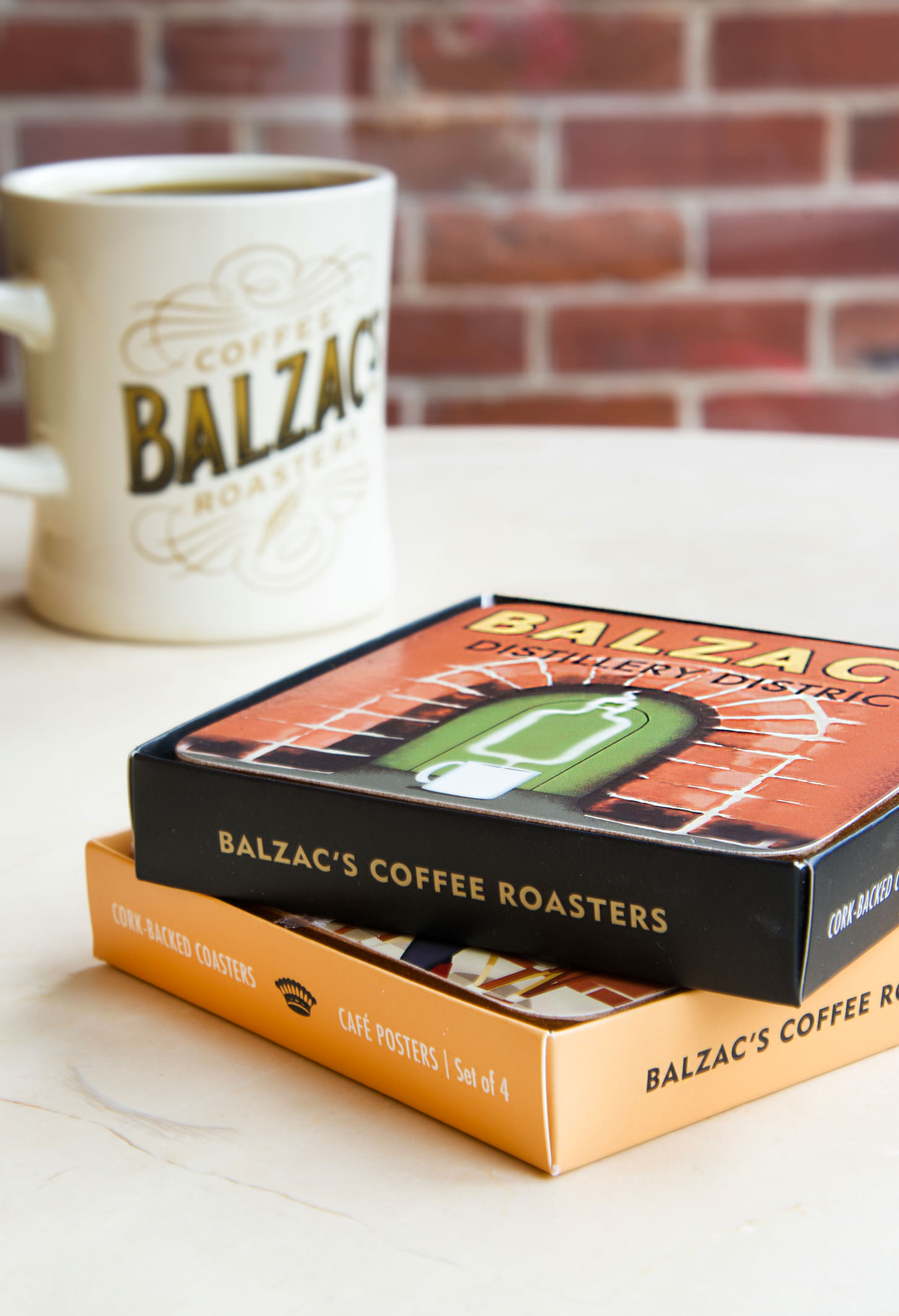 Chad Roberts Chad Roberts Design Ltd. Balzac's Coffee Roasters Brand Identity Design Merchandise Design