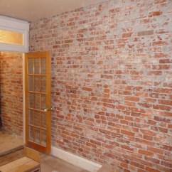 Wallpaper For Kitchen Walls Ideas Small Kitchens Galley Brick 2017 Grasscloth