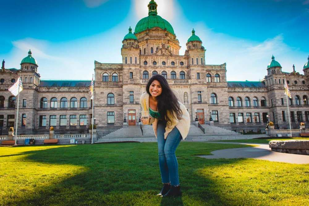 Parliament Building in Victoria BC