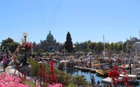 Victoria City in summer
