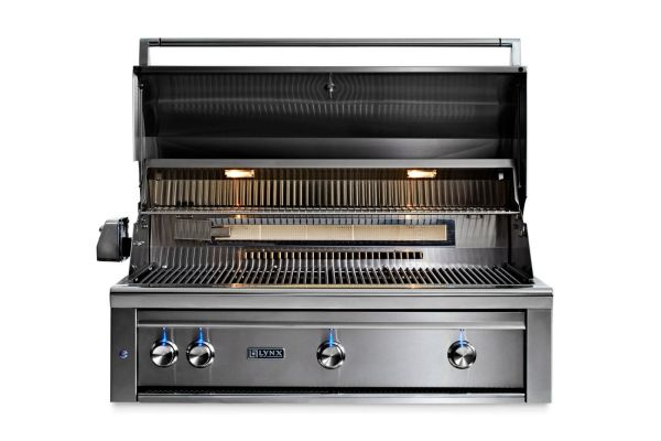 Lynx 42 Built-in Grill With Rotisserie And 3 Trident