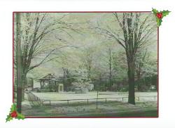 1930's Christmas Card
