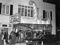 Falls Theater Nov 1977. The Gathering