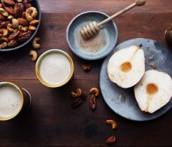 Pears With Spiced Honey