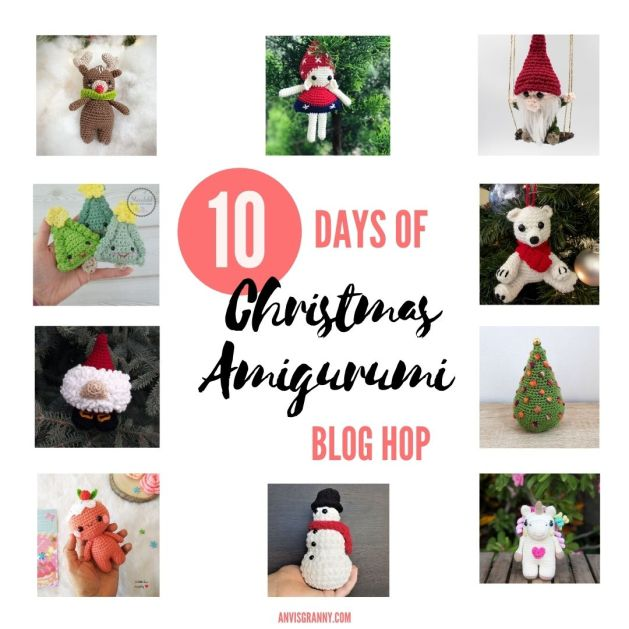 10 Days of Christmas Amigurumi Blog Hop