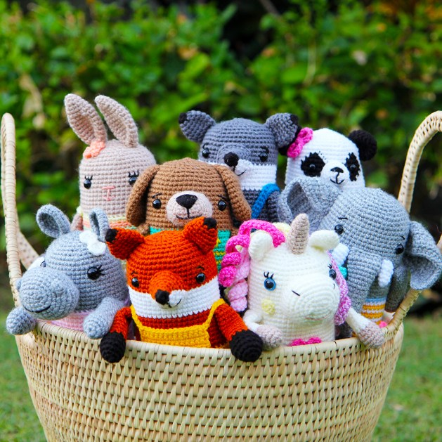 Juna Series crochet animals