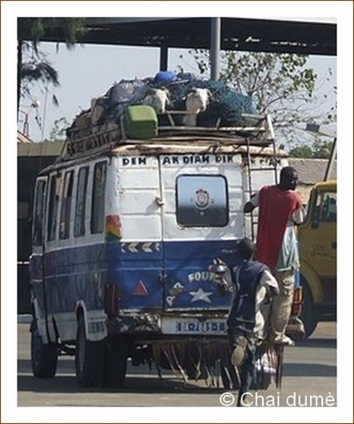 Dakar, car rapide