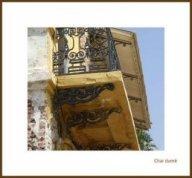 balcon à Saint Louis du Sénégal