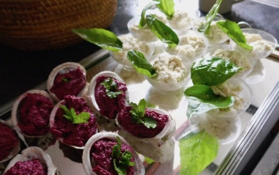 Amuse-bec à l'artichaut et au wasabi