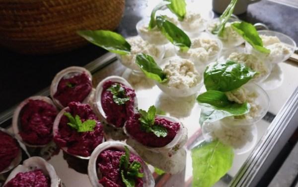 IMG 0539 Amuse bec à lartichaut, au mascarpone et au wasabi
