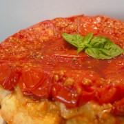 tarte tatin à la tomate