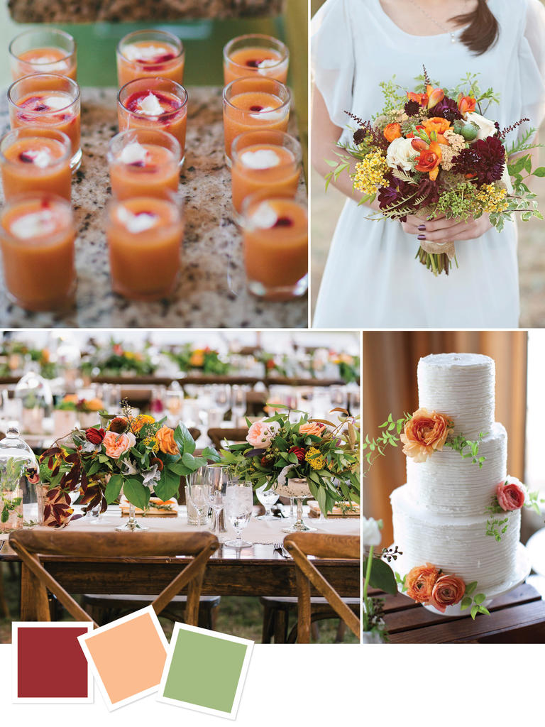 Fall Wedding Colors And Themes