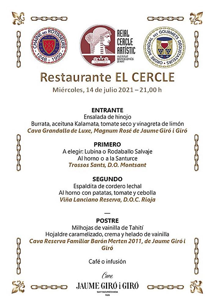 chaine-rotisseurs-espana-barcelona-cena-verano-restaurante-cercle