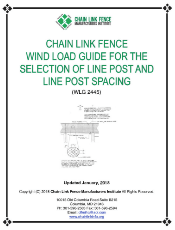 CLFMI - Security Fencing Recommendation 2017
