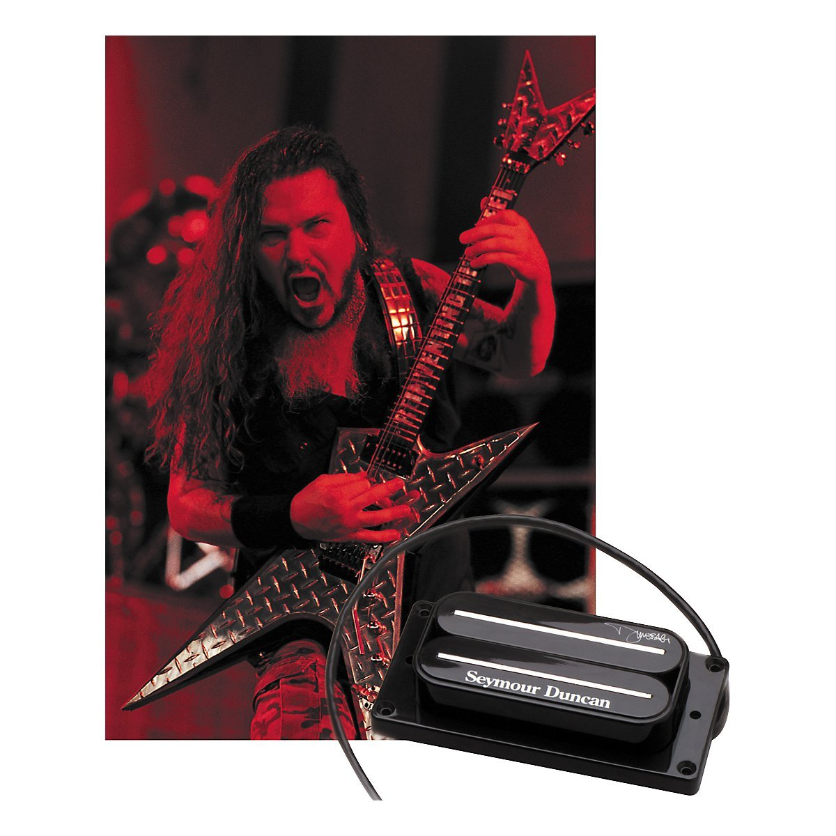 hight resolution of the seymour duncan sh13 dimebucker is a replica of dimebag s custom humbucker