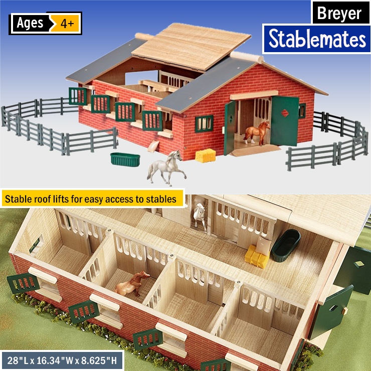 Toy Horse Barn Kits