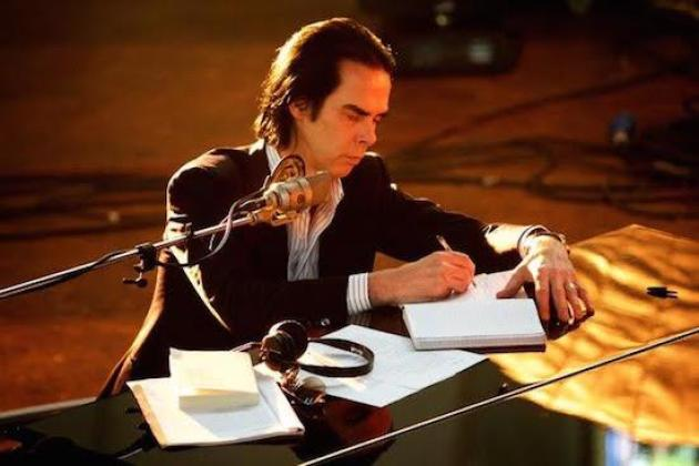 Nick Cave piano