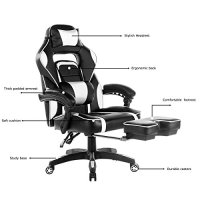 Best Ergonomic Gaming Recliners With A Footrest For 2018 ...