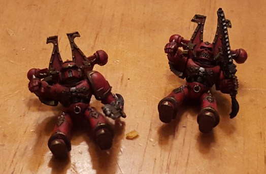 Khorne bikers not finished