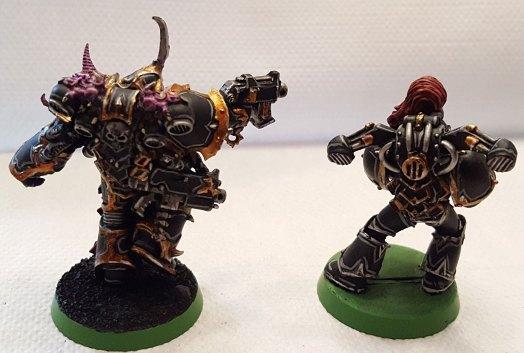 Black Legion, champion and old marine, rear