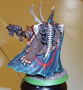 Black Legion Chaos Lord, completed, back angle