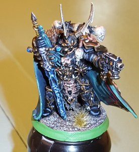 Black Legion Chaos Lord, completed, front