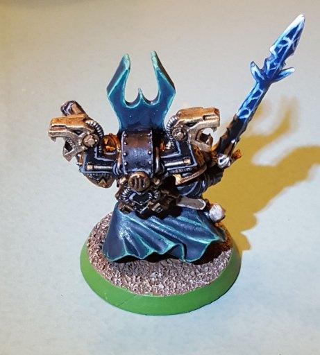 Sorcerer, complete, rear