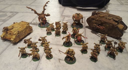 Death Guard, pre-8th edition