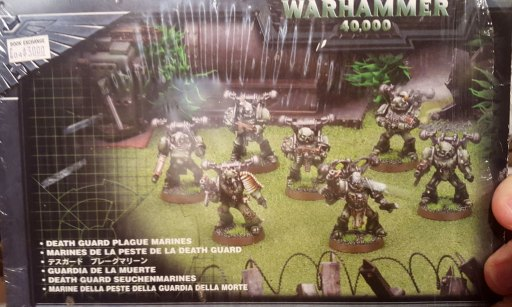 3rd edition Death Guard box, front