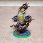 Foetid bloat drone, completed, front