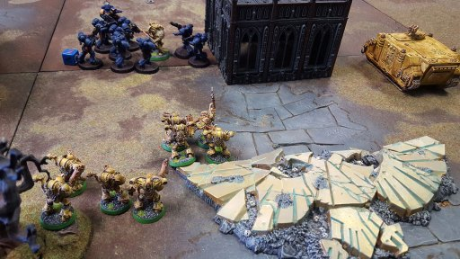 Fate of Konor, first game, top of second turn