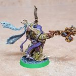 Malignant Plaguecaster, completed, flank