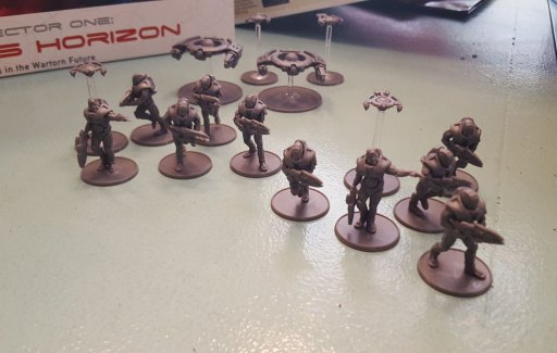 Antares models, Concord faction