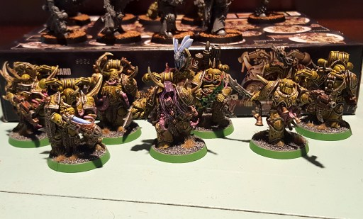 Plague Marine squad, completed