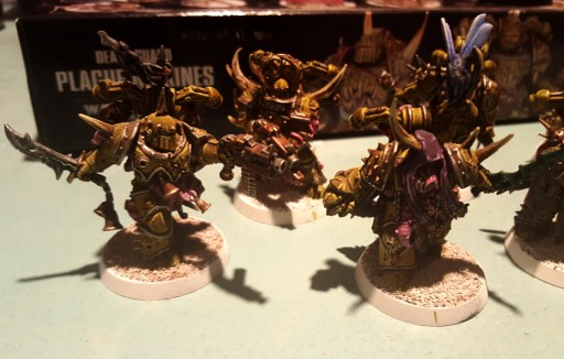 Plague Marines, champ and others highlights
