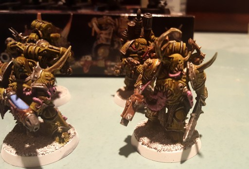 Plague Marines, plasma gunner and others highlights