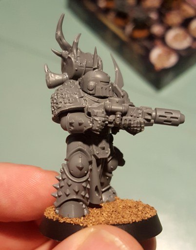 Plague Marines, unprimed meltagunner gauntlet