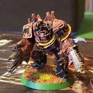 Black Legion obliterator, front