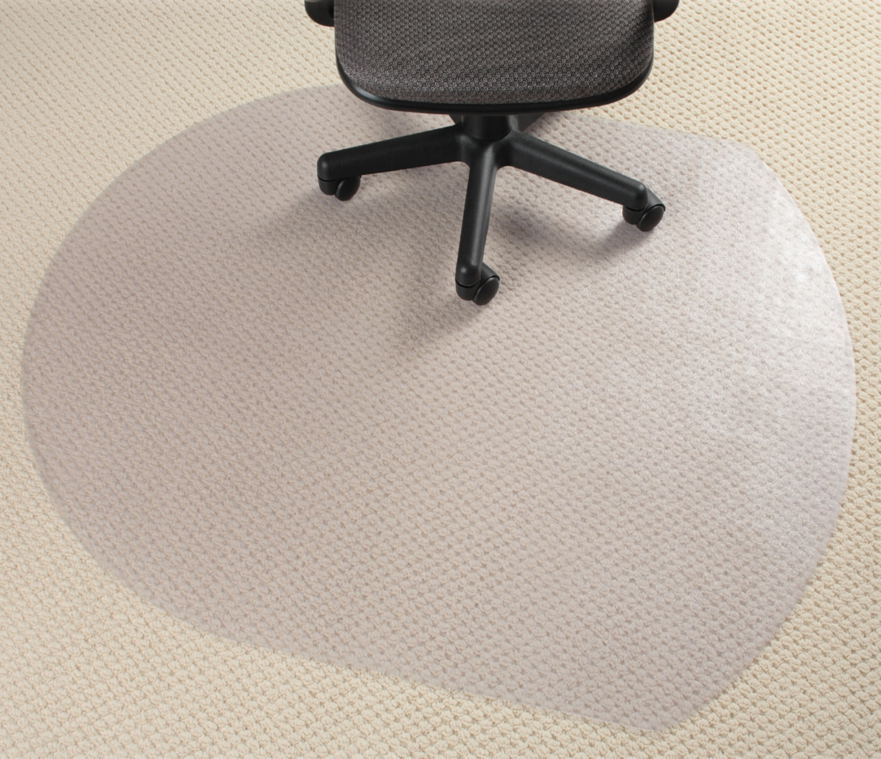 Glass Chair Mat Contour Mats For Office 4th Best Selling