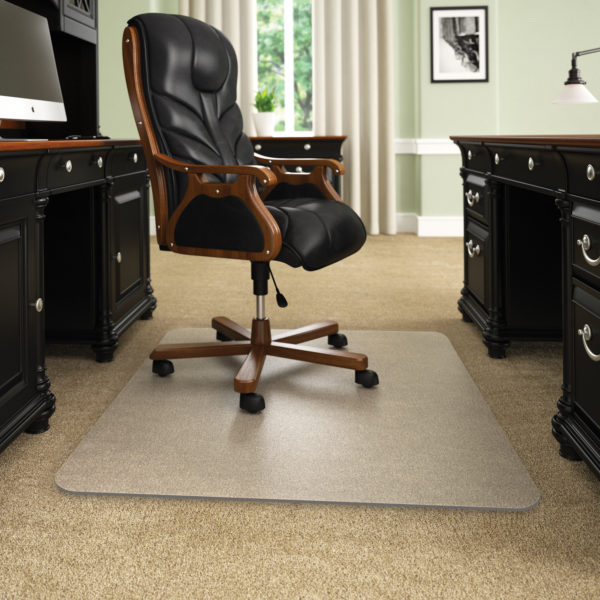 desk chair mats oak spindle back dining chairs com the internet s 1 source for execumat thickest best selling opaque